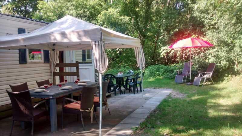 Chalet 6-8 persoons op camping de Oldemeyer
