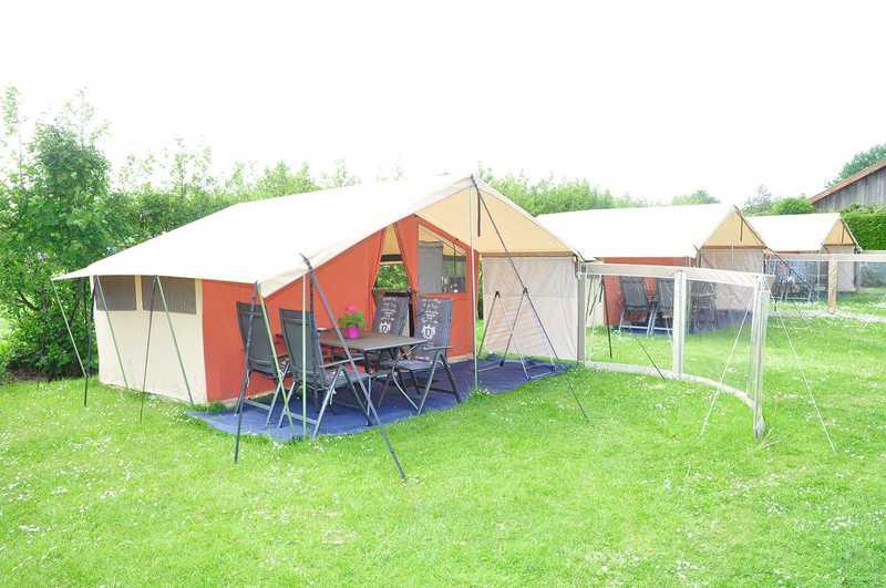 Ingerichte huurtenten Camping Mast Terschelling