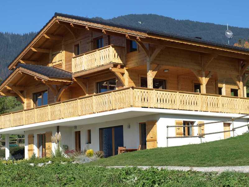 Nieuw, luxe chalet in Franse Alpen 6/8/14 p.