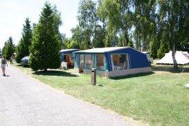 Luxe volledig ingerichte bungalowtenten in Frankrijk